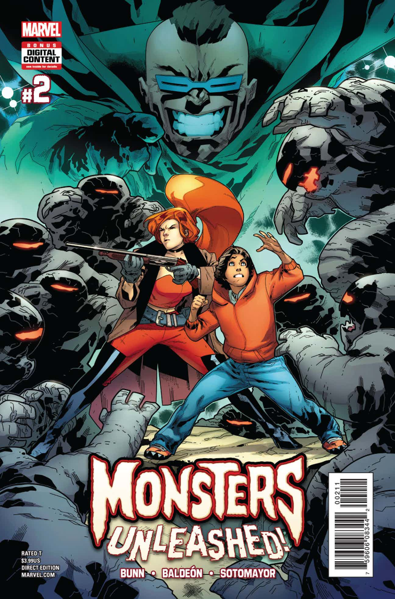 Monsters Unleashed Vol 3 2