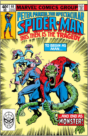 Peter Parker, The Spectacular Spider-Man Vol 1 40.jpg