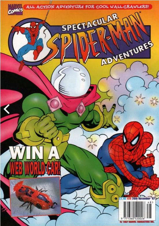 Spectacular Spider-Man (UK) Vol 1 28