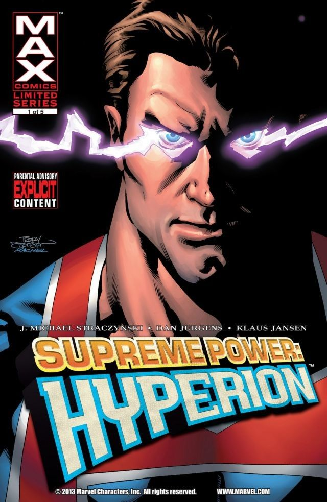 Supreme Power: Hyperion Vol 1 1