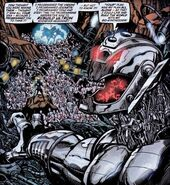 Ultron (Earth-616) from Avengers The Ultron Imperative Vol 1 1 0001
