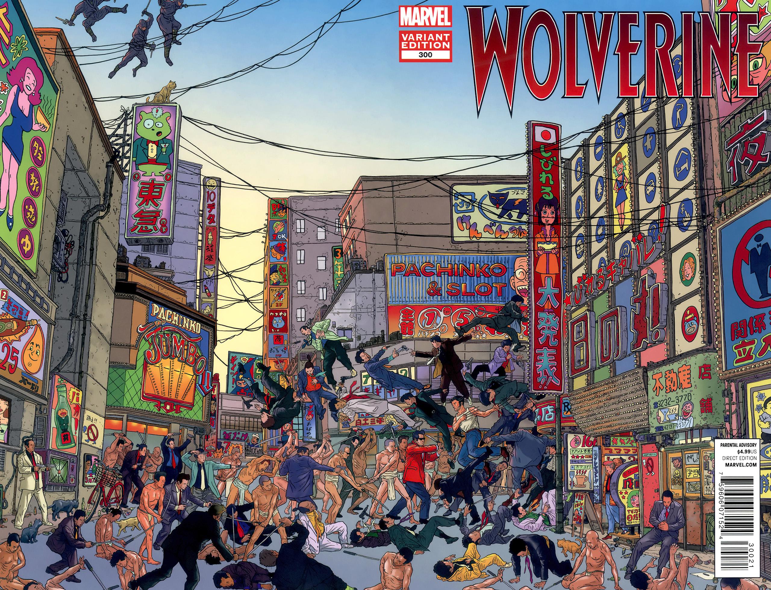 Wolverine Vol 2 300 Geof Darrow Wraparound Variant.jpg