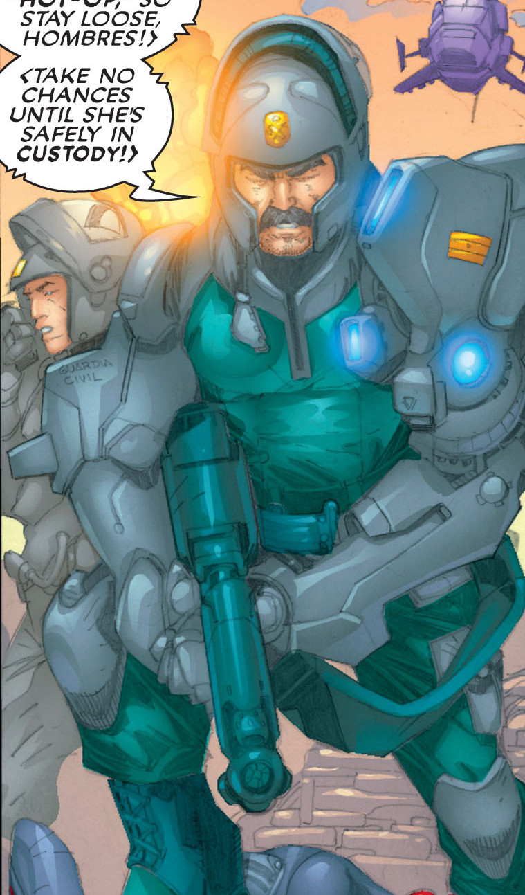 Action Force (Earth-616)/Gallery