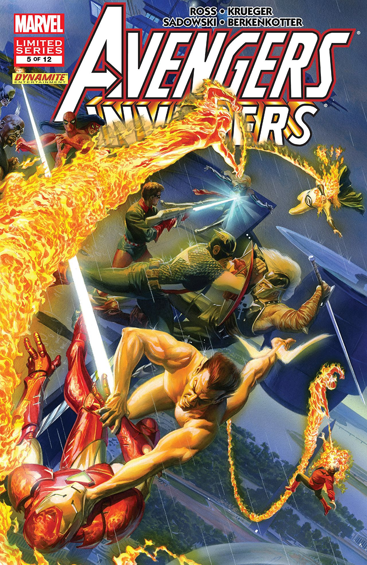 Avengers / Invaders Vol 1 5
