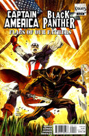 Black Panther-Captain America Flags of Our Fathers Vol 1 1