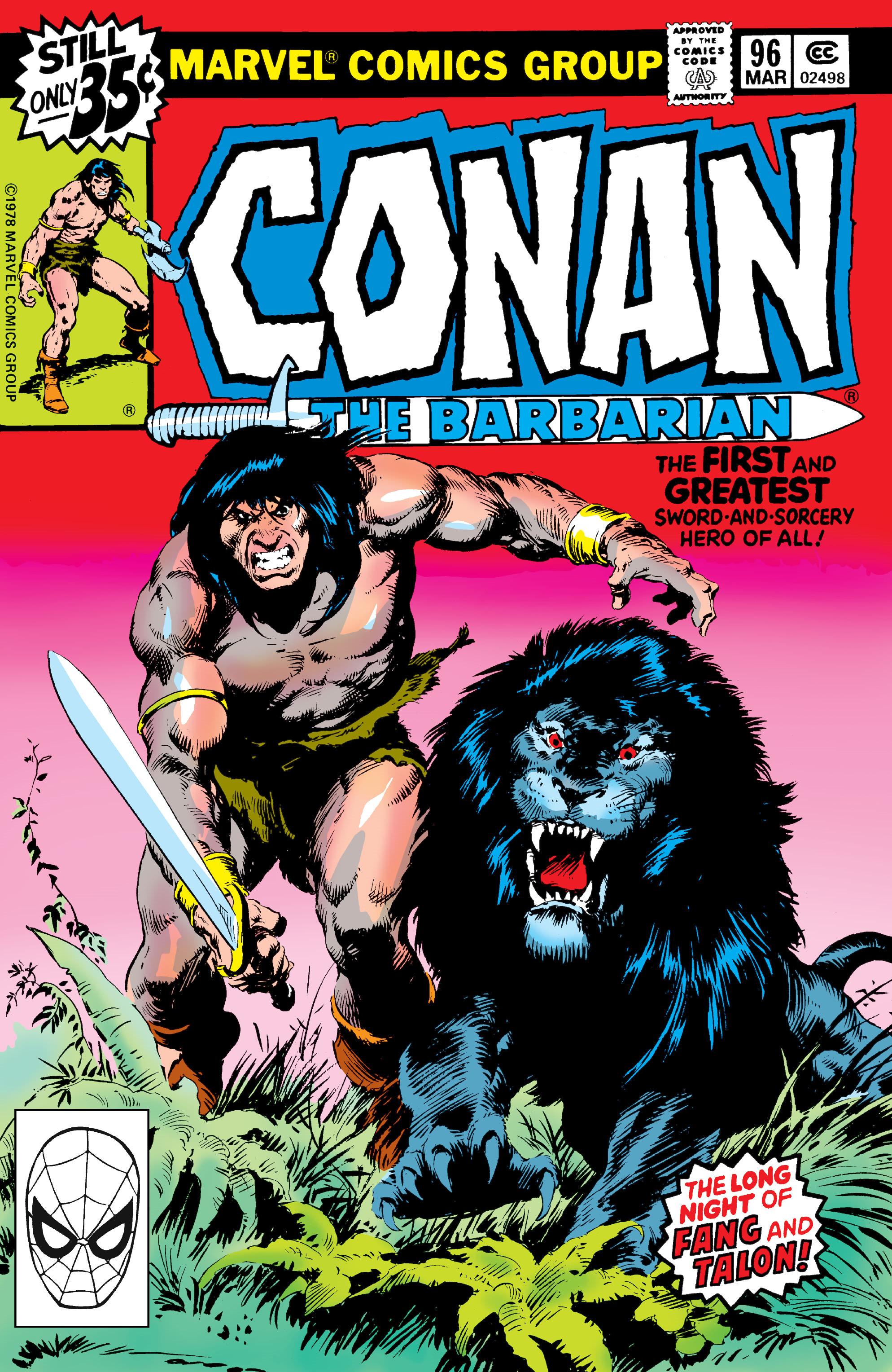 Conan the Barbarian Vol 1 96