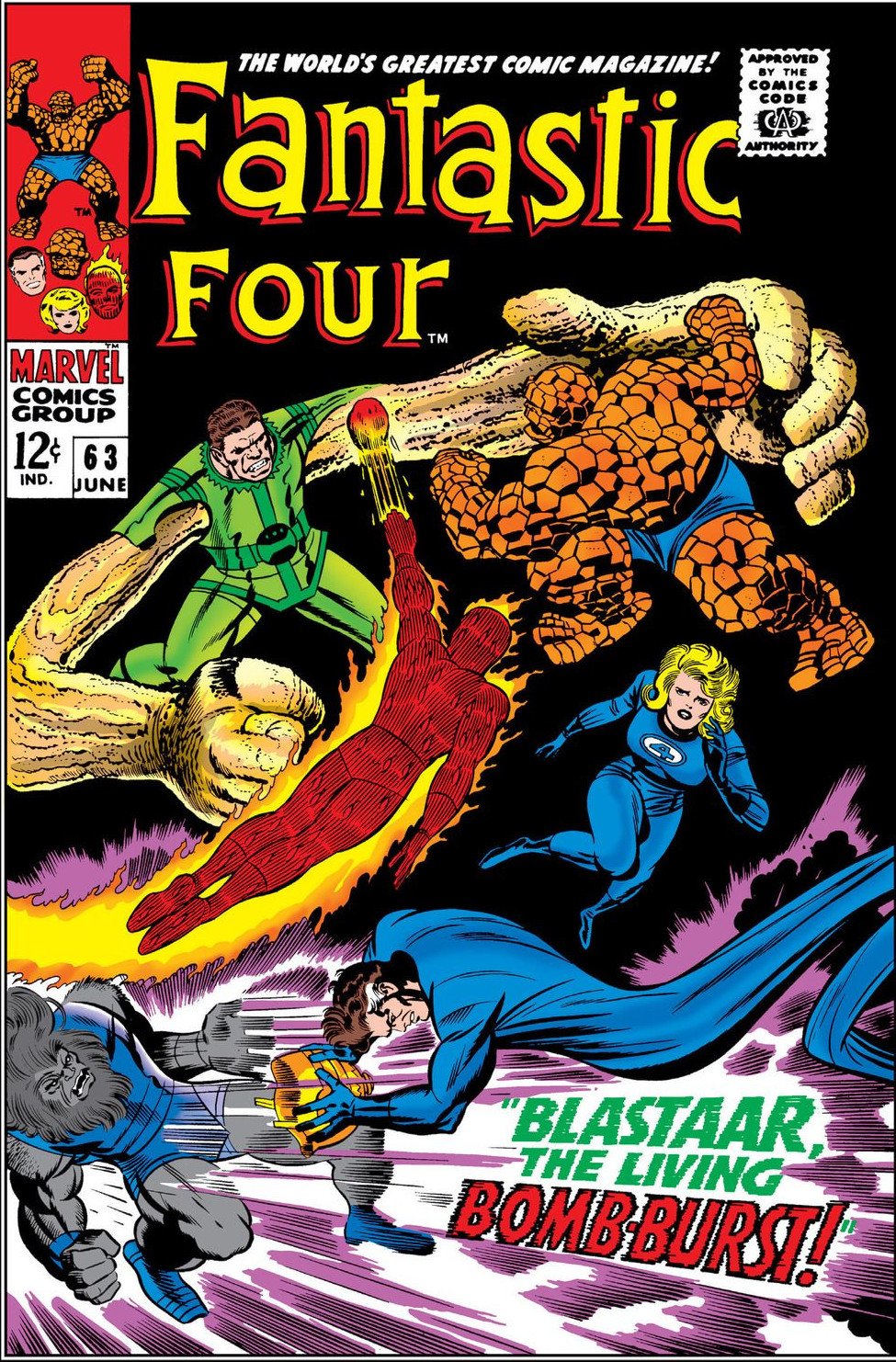 Fantastic Four Vol 1 63