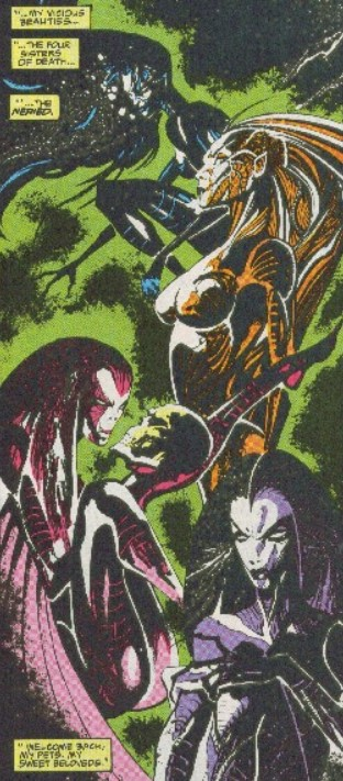 Four Sisters of Death (Earth-616)