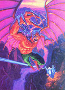 Lemuel Halcon (Earth-928) from Marvel Masterpieces (Trading Cards) 1994 001