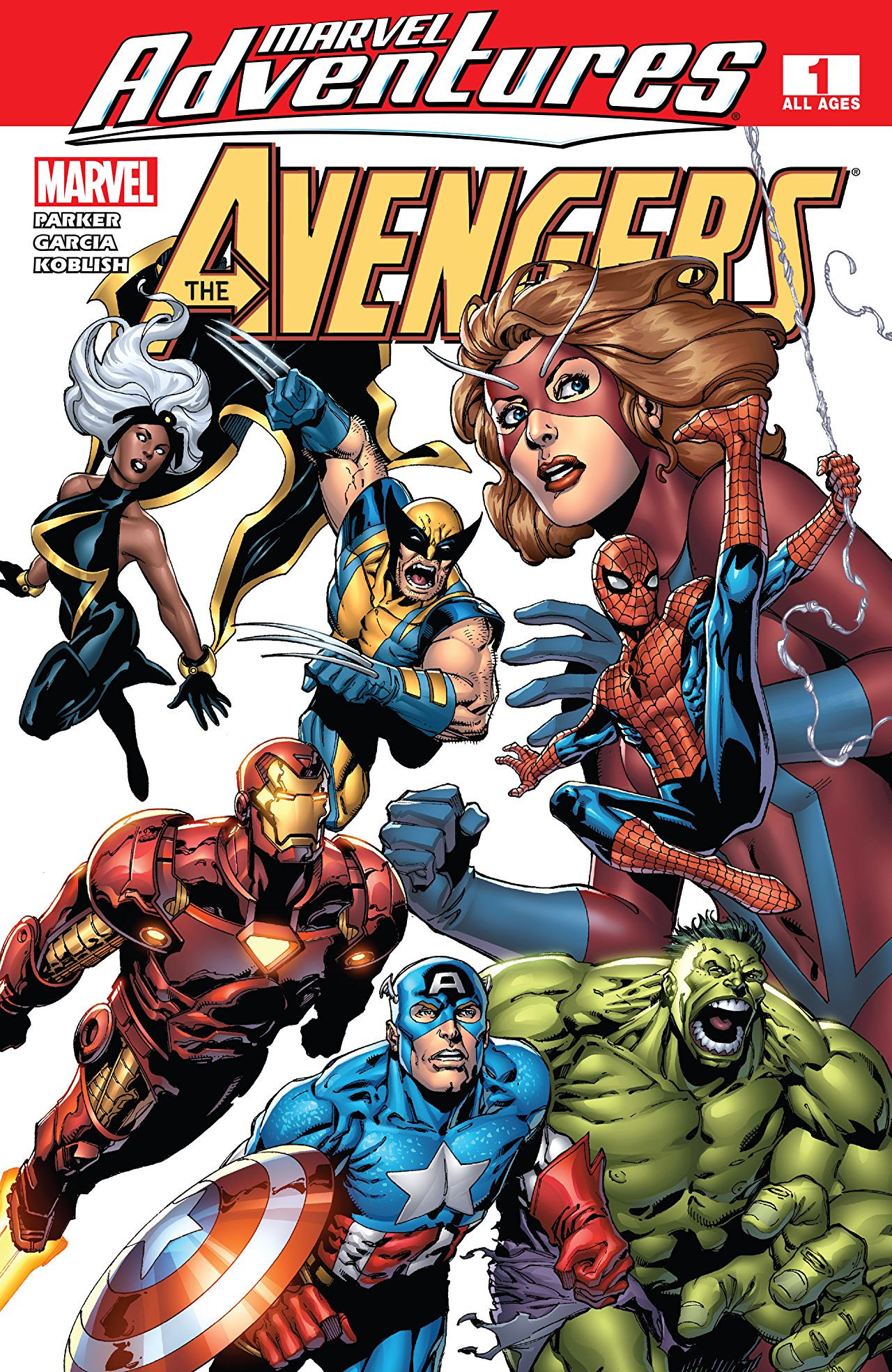 Marvel Adventures: The Avengers Vol 1