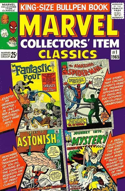 Marvel Collectors' Item Classics Vol 1