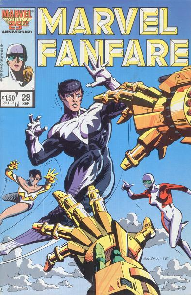 Marvel Fanfare Vol 1 28