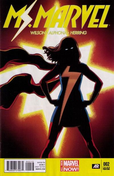 Ms. Marvel Vol 3 2 3rd Printing Variant.jpg
