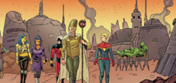 Mydonia from Generations Captain Marvel & Captain Mar-Vell Vol 1 1 001.png