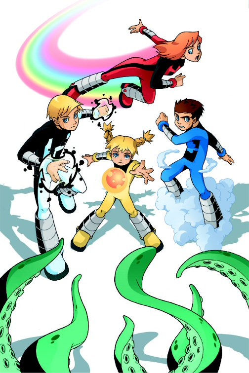 Power Pack (Earth-5631)/Gallery