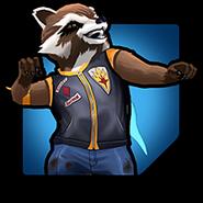 Rocket Raccoon (Earth-TRN562) from Marvel Avengers Academy 003