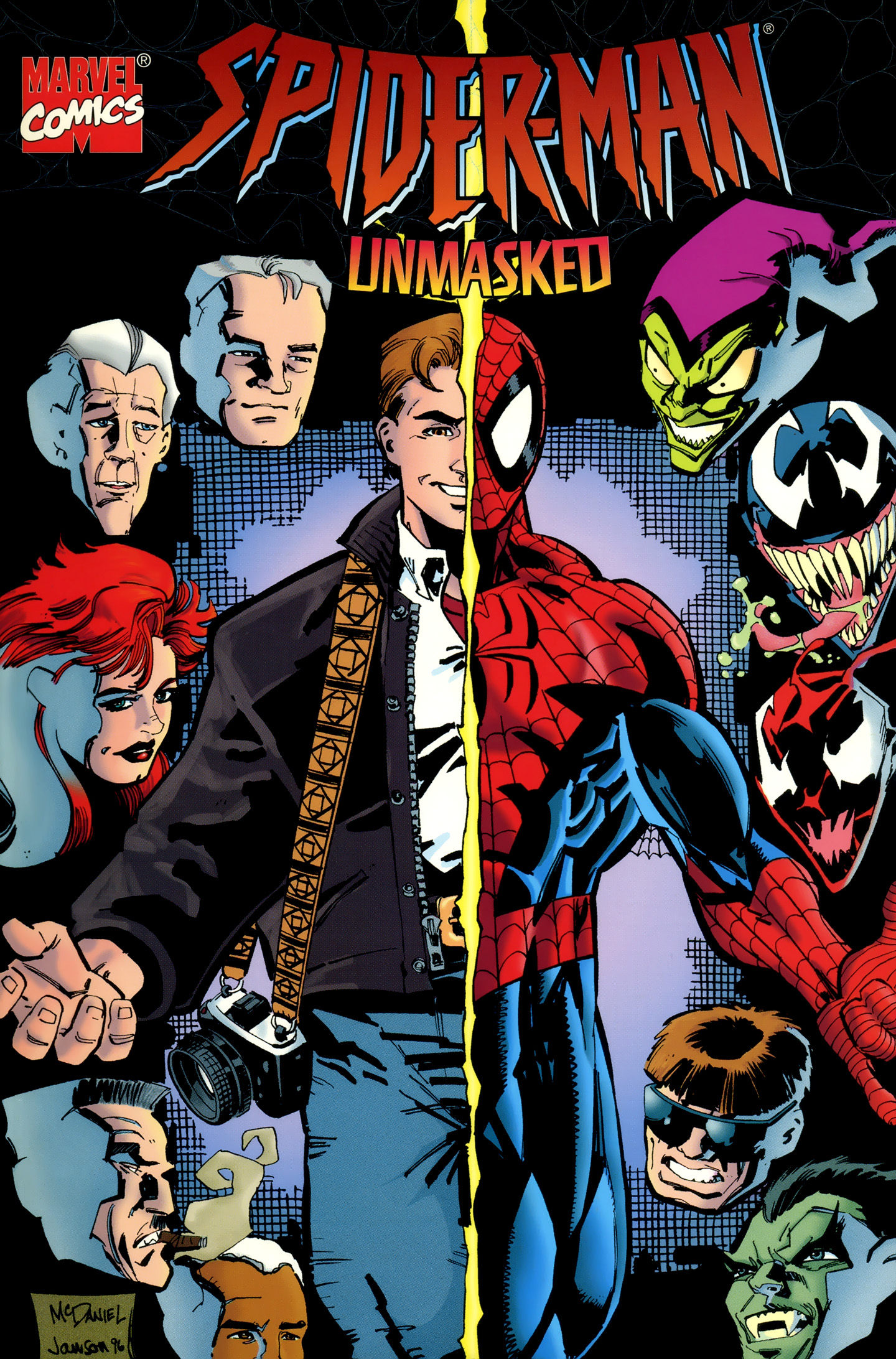 Spider-Man Unmasked Vol 1