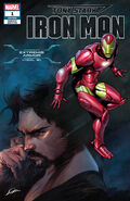 Tony Stark Iron Man Vol 1 1 Adi Armor Variant