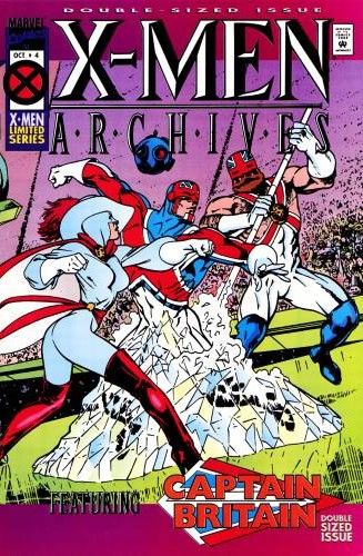 X-Men Archives Featuring Captain Britain Vol 1 4