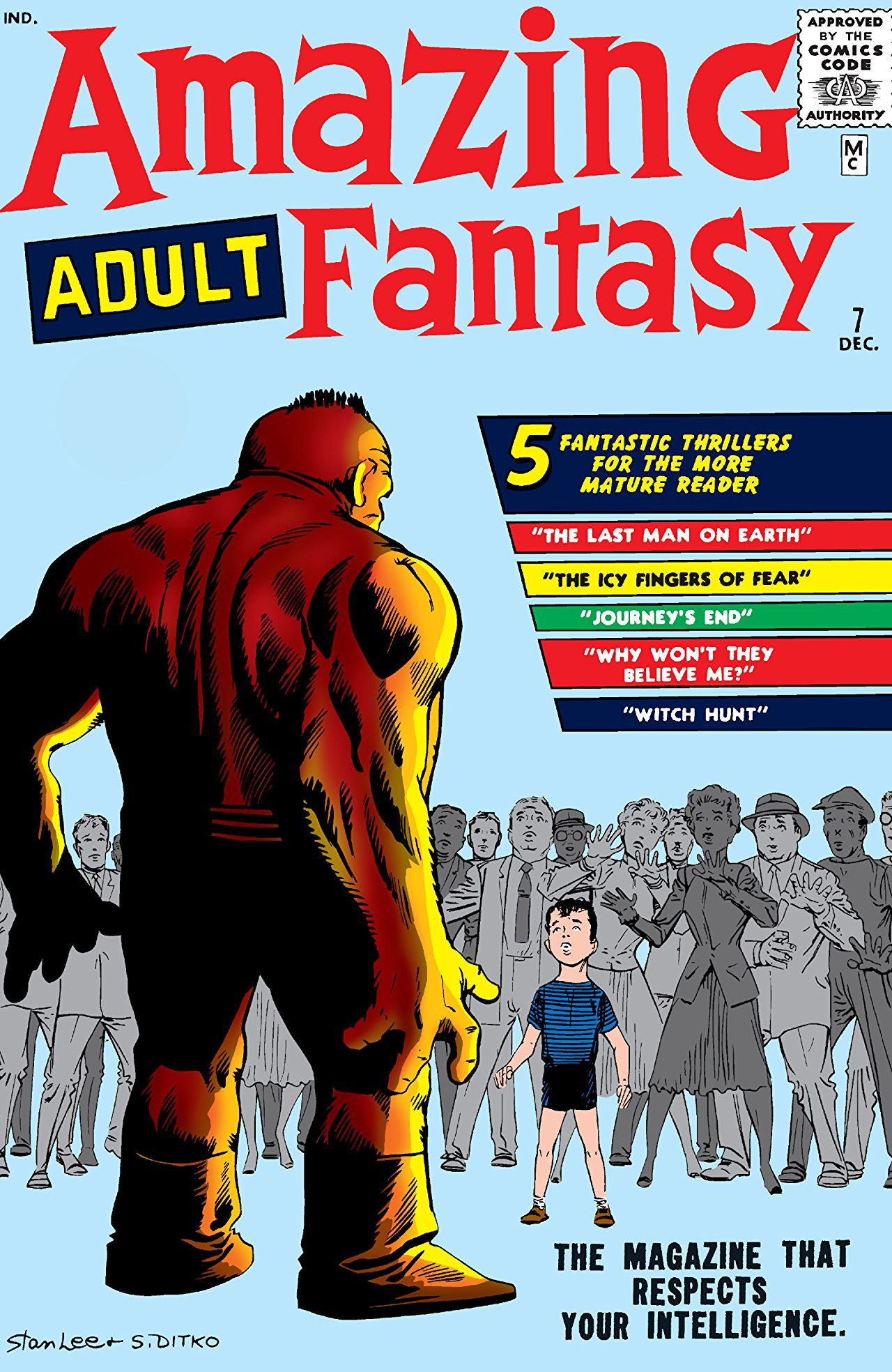 Amazing Adult Fantasy Vol 1