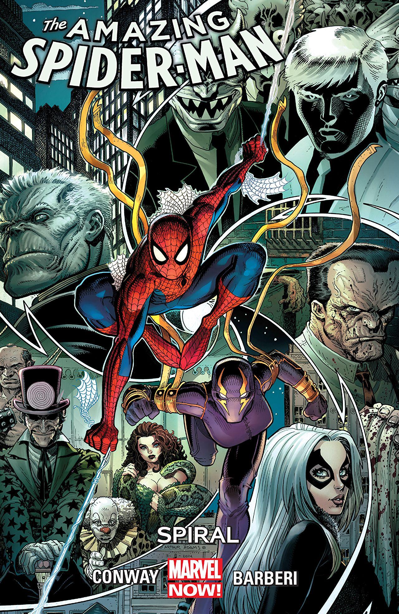 Amazing Spider-Man TPB Vol 2 5 Spiral.jpg