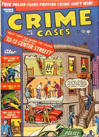 Crime Cases Comics Vol 1 9