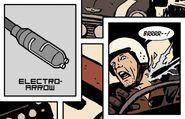 Electro-Arrow from Hawkeye Vol 4 3 001