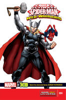 Marvel Universe Ultimate Spider-Man Web Warriors Vol 1 4 Cover