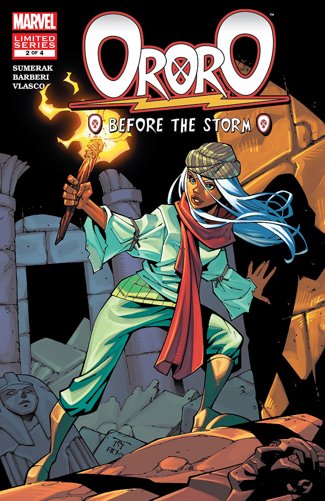 Ororo: Before The Storm Vol 1 2