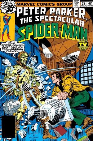 Peter Parker, The Spectacular Spider-Man Vol 1 28.jpg
