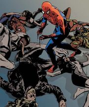 Peter Parker (Earth-Unknown) from Spider-Man Grim Hunt The Kraven Saga Vol 1 1 Cover.jpg