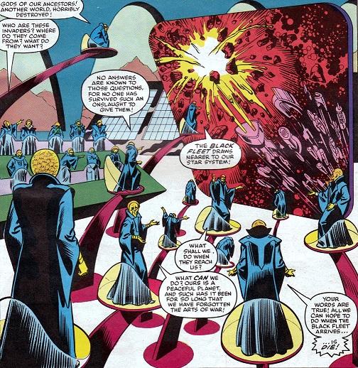 Ruling Council (Scadam) (Earth-616)/Gallery