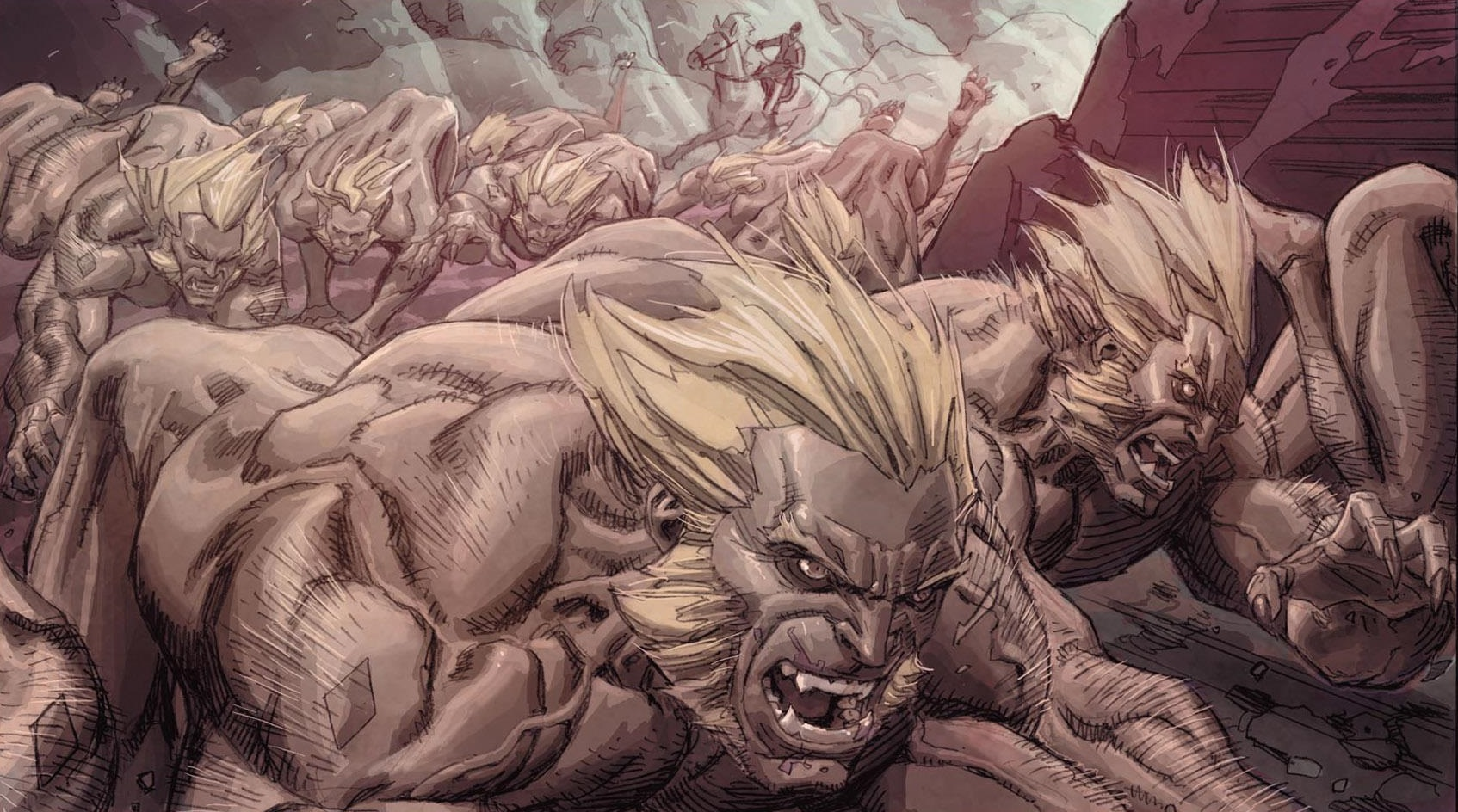 Sabretooth Hounds (Earth-616)/Gallery