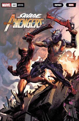 Savage Avengers Vol 1 12 Fortnite Variant.jpg