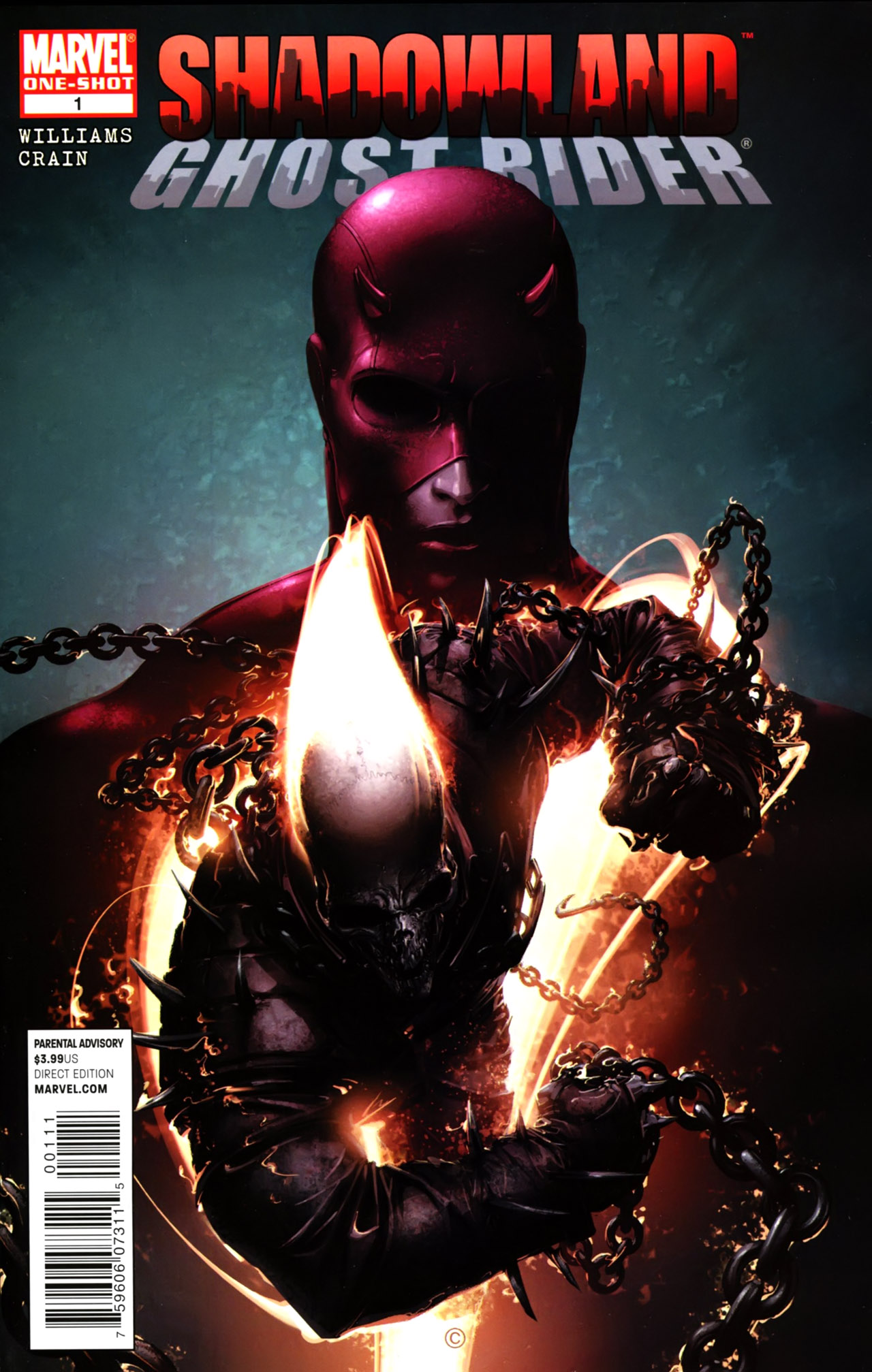 Shadowland: Ghost Rider Vol 1 1