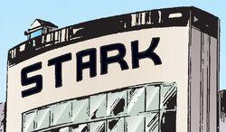Stark Enterprises Building (Los Angeles) from War Machine Vol 1 20 001.jpg