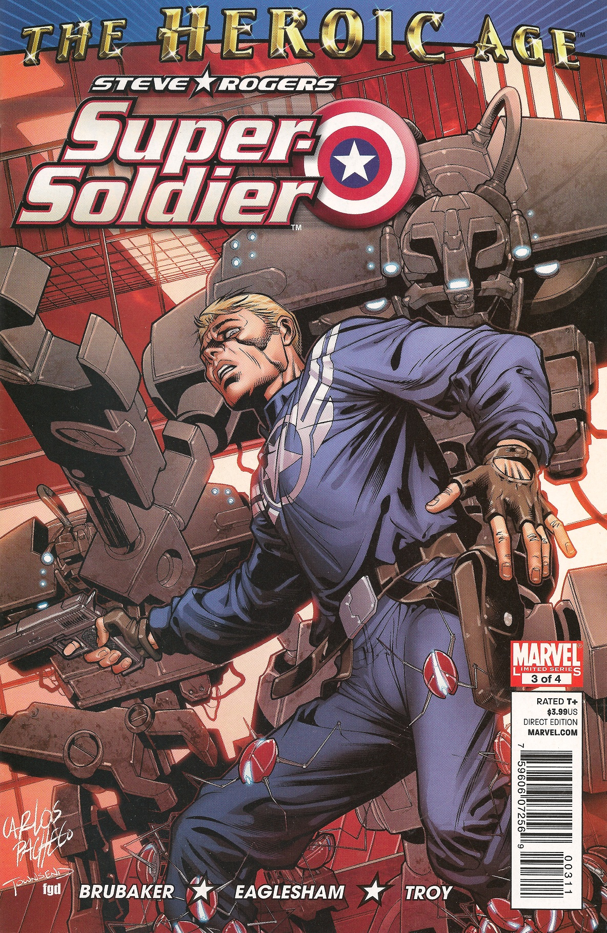 Steve Rogers: Super-Soldier Vol 1 3