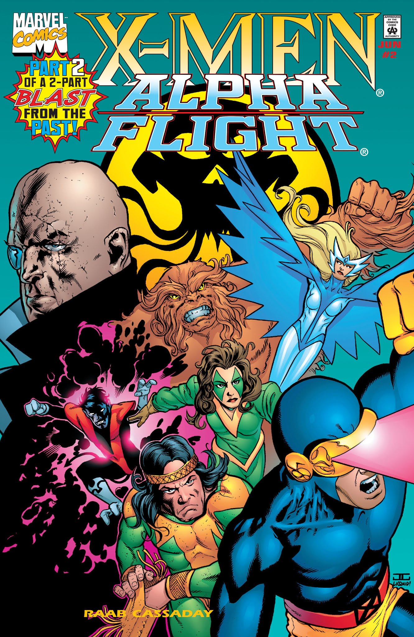 X-Men/Alpha Flight Vol 2 2