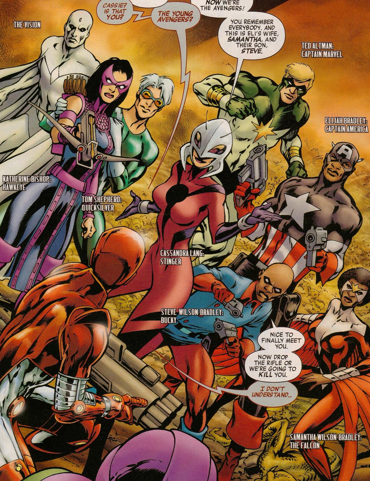 Avengers (Earth-11051) from Avengers The Children's Crusade - Young Avengers Vol 1 1 0001.jpg