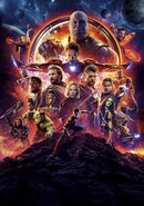 Avengers Infinity War poster 002 Textless