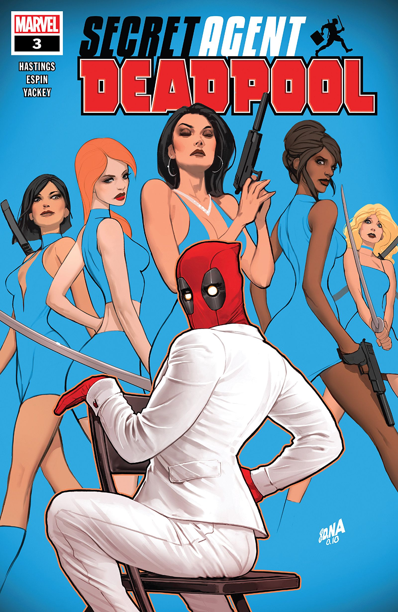 Deadpool: Secret Agent Deadpool Vol 1 3