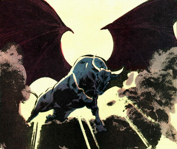 Demon Bull (Earth-616) from Kull the Conqueror Vol 3 3 001.png