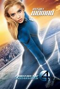 Fantastic Four Rise of the Silver Surfer (film) poster Invisble Woman 2