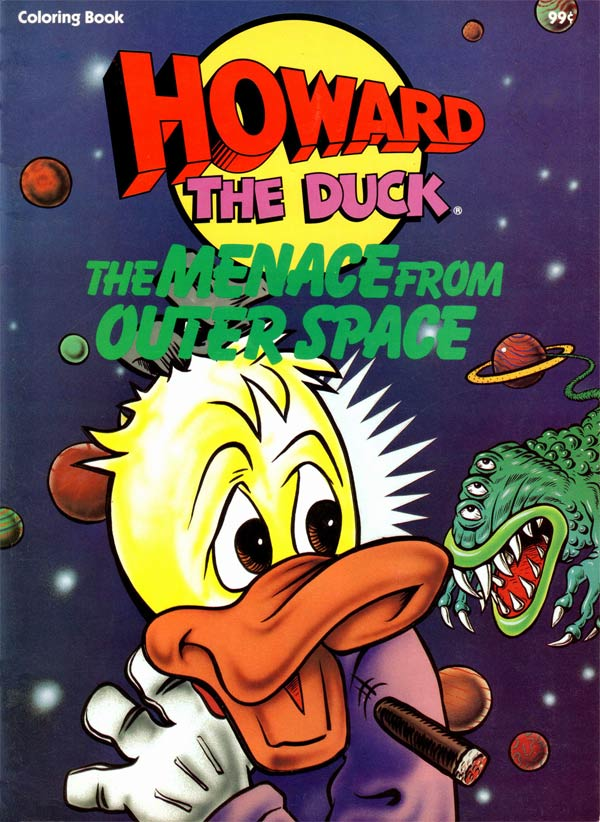 Howard the Duck: The Menace from Outer Space
