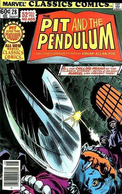 Marvel Classics Comics Series Featuring Pit and the Pendulum Vol 1