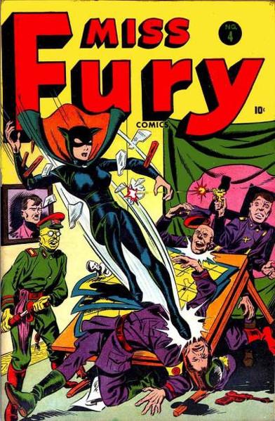 Miss Fury Vol 1 4
