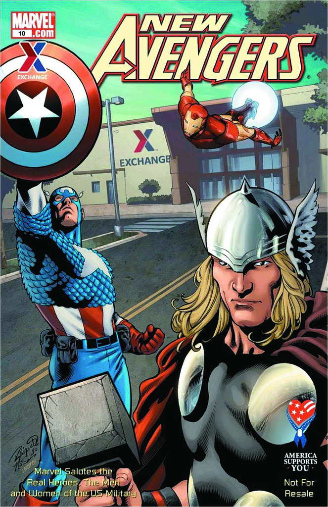 New Avengers Marvel Salutes the U.S. Military Vol 1 10