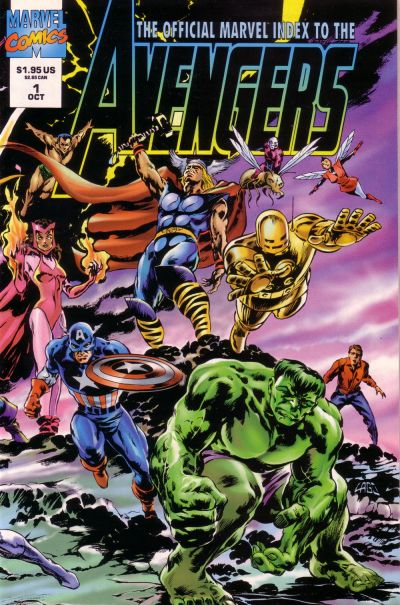 Official Marvel Index to Avengers Vol 2
