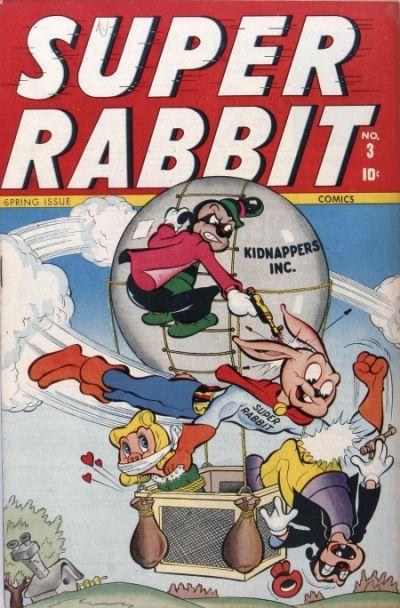 Super Rabbit Comics Vol 1 3