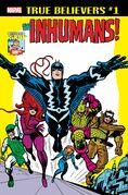 True Believers Kirby 100th - Inhumans Vol 1 1